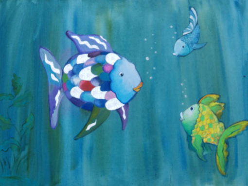 Vissen in de zee